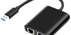 USB Adapter, USB 3.0 to Dual-GbE